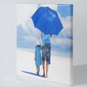 Canvas 80x80cm glans Frame 2cm