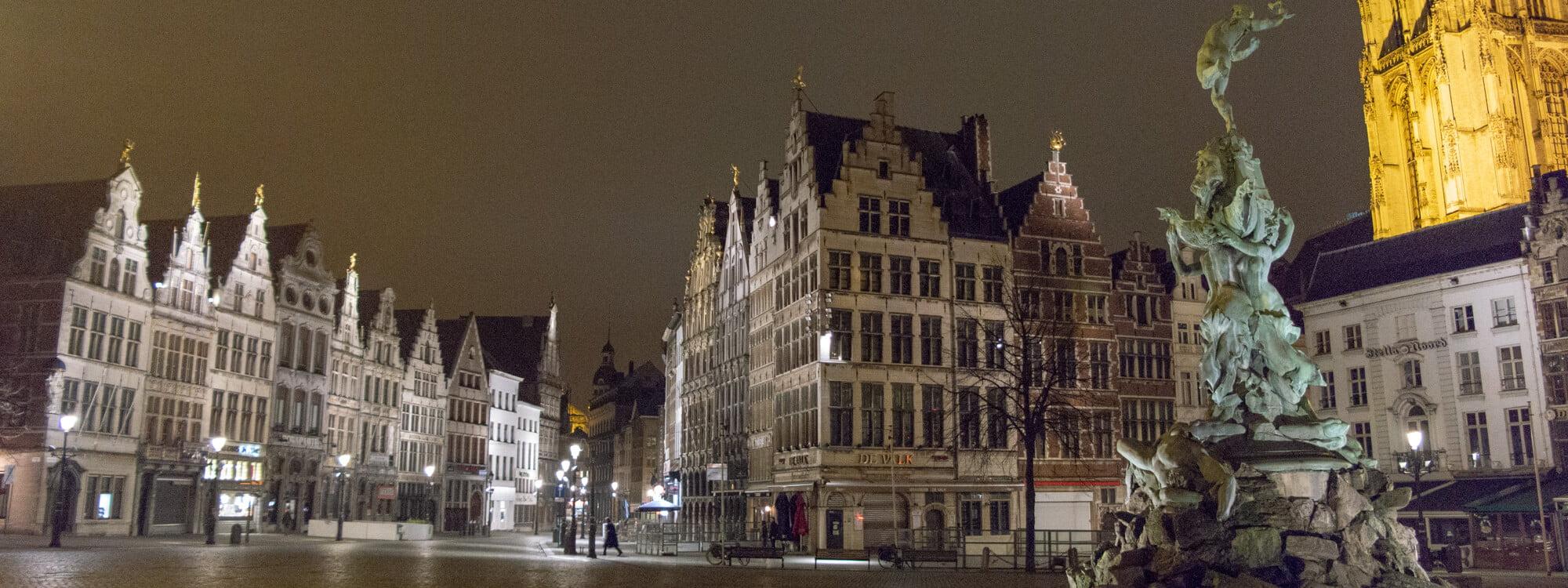 Workshop avondfotografie in Antwerpen