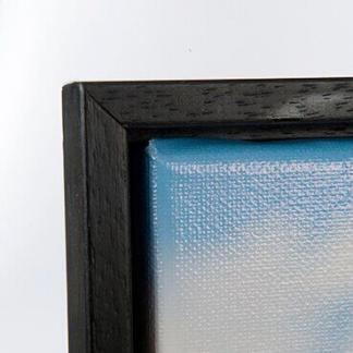 Baklijst voor canvas zwart